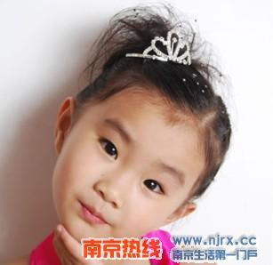 可爱儿童发型打造时髦小公主(图)