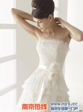 2010爱上可爱蓬蓬裙婚纱礼服(图)