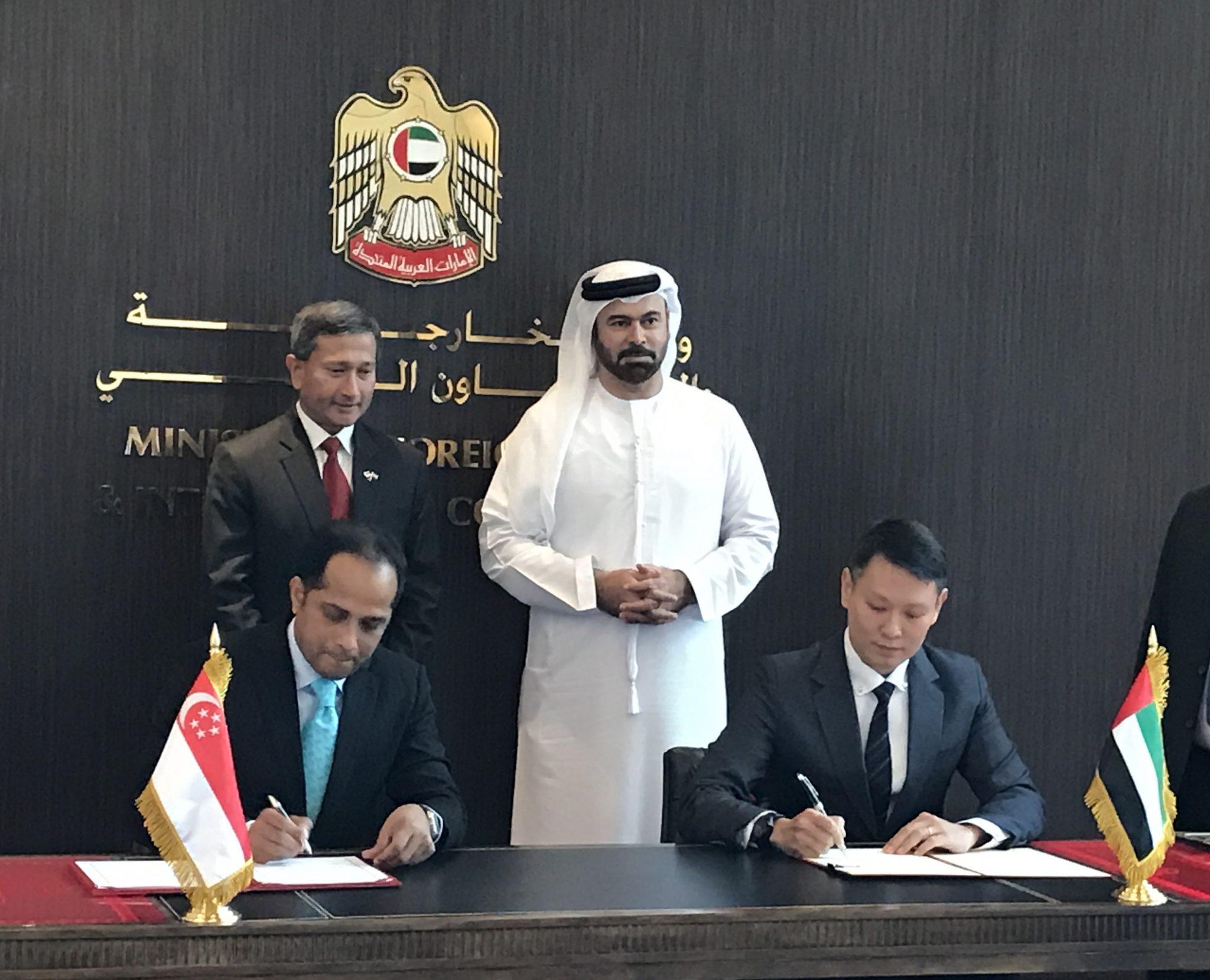 阿布扎比和新加坡签署了金融科技创新协议