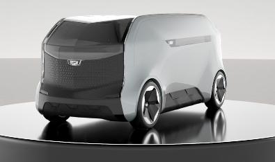凯迪拉克展示了PAV Pod概念车