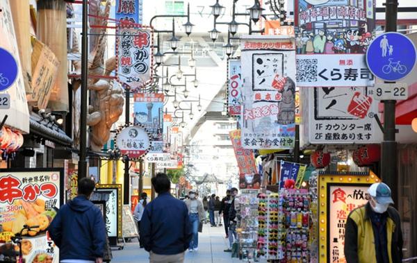 大阪府执行关键对策期内,除开规定餐馆等减少上班时间至20点