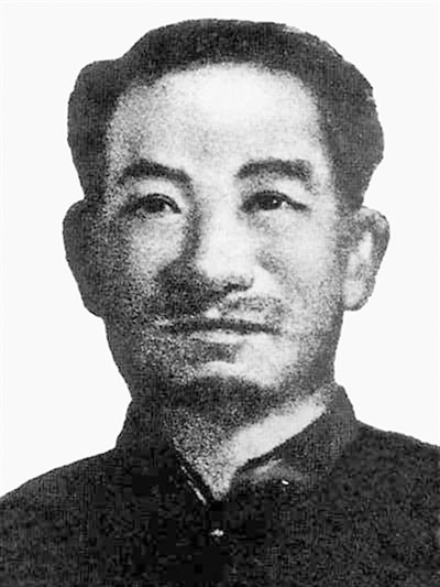 韦拔群,1894年生,广西省东兰人