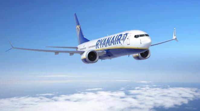 瑞安航空将接收第一架波音737 MAX